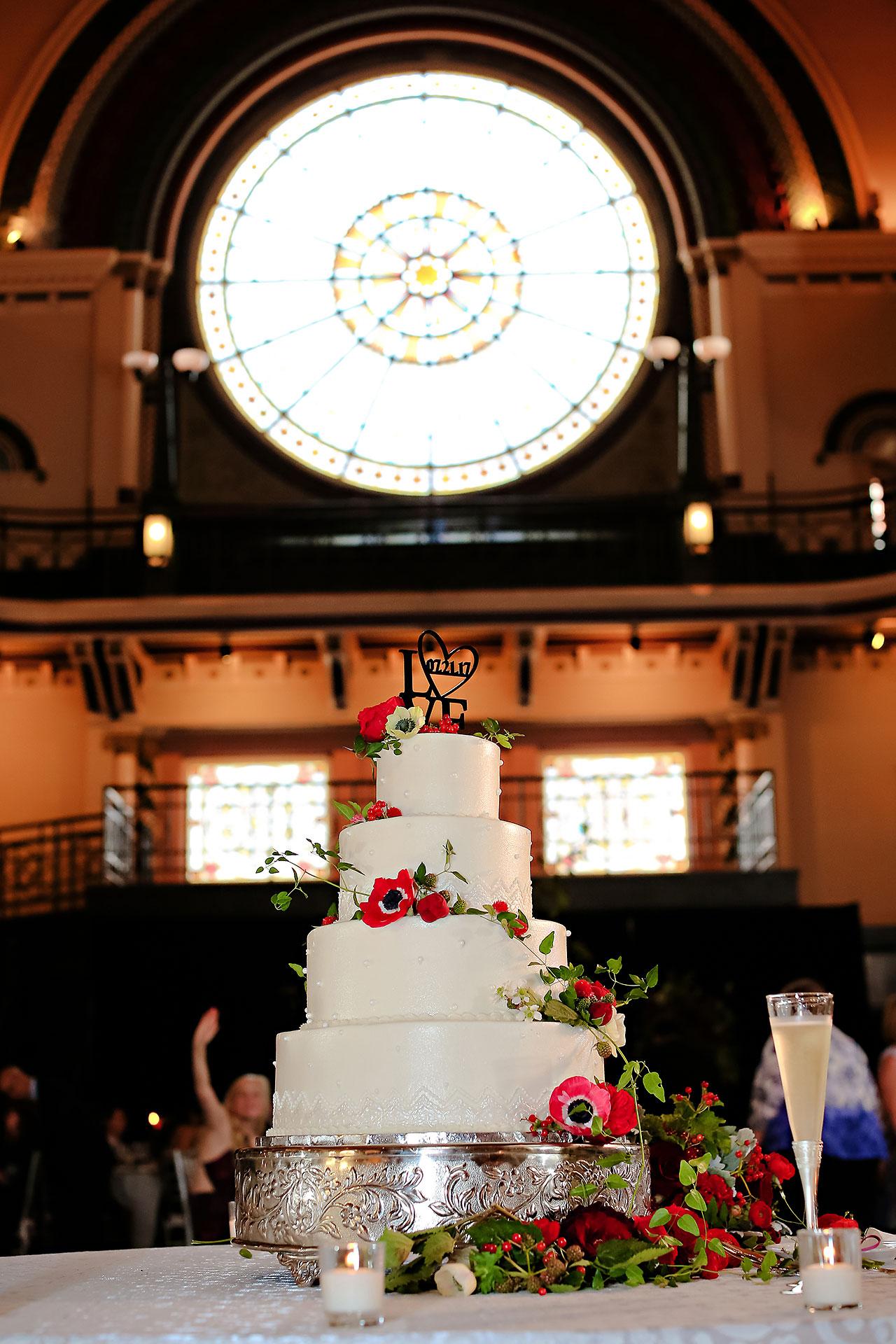 Diana Nick Crowne Plaza Indianapolis Wedding 256