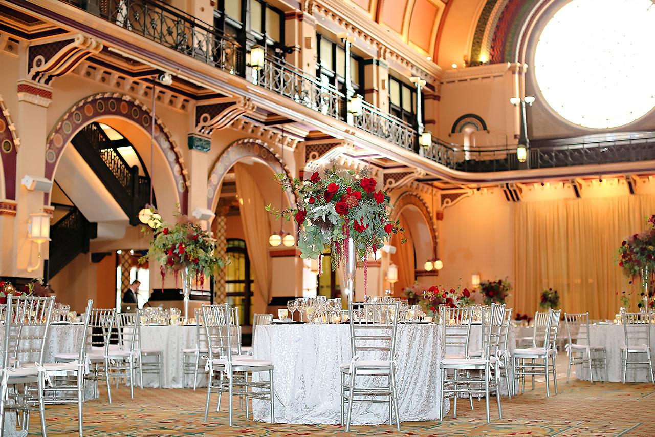Diana Nick Crowne Plaza Indianapolis Wedding 249