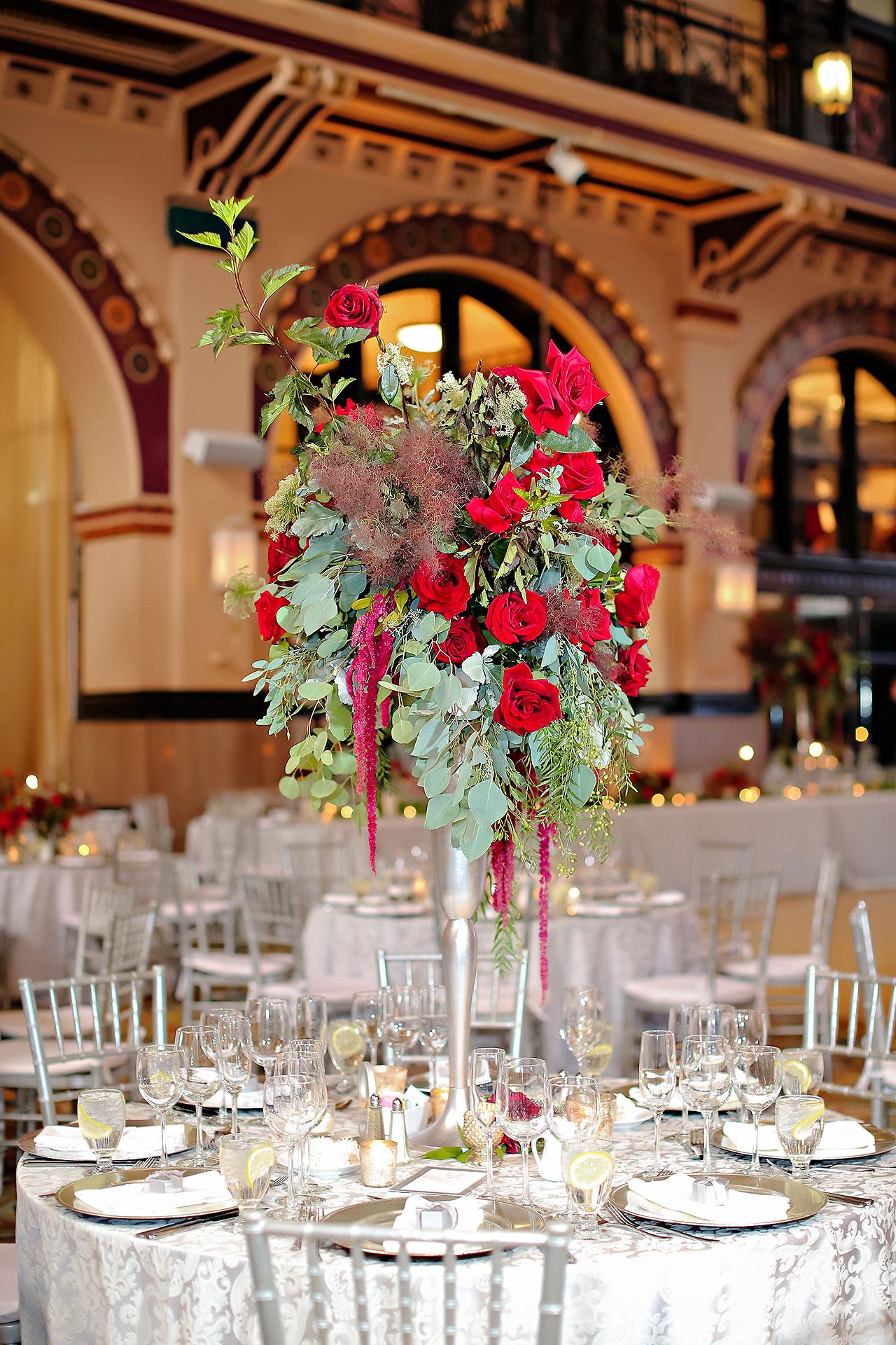 Diana Nick Crowne Plaza Indianapolis Wedding 248
