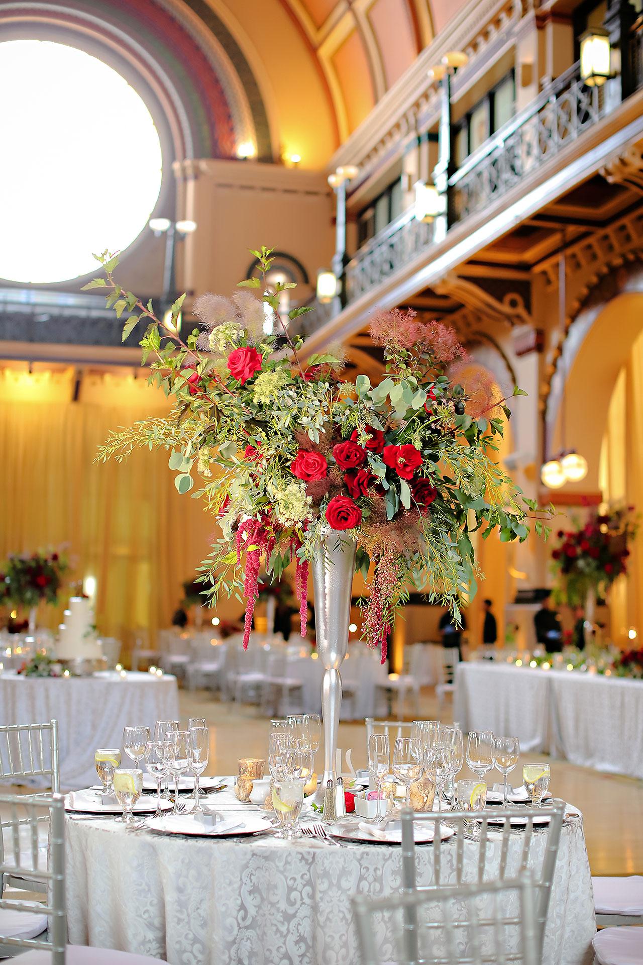 Diana Nick Crowne Plaza Indianapolis Wedding 245