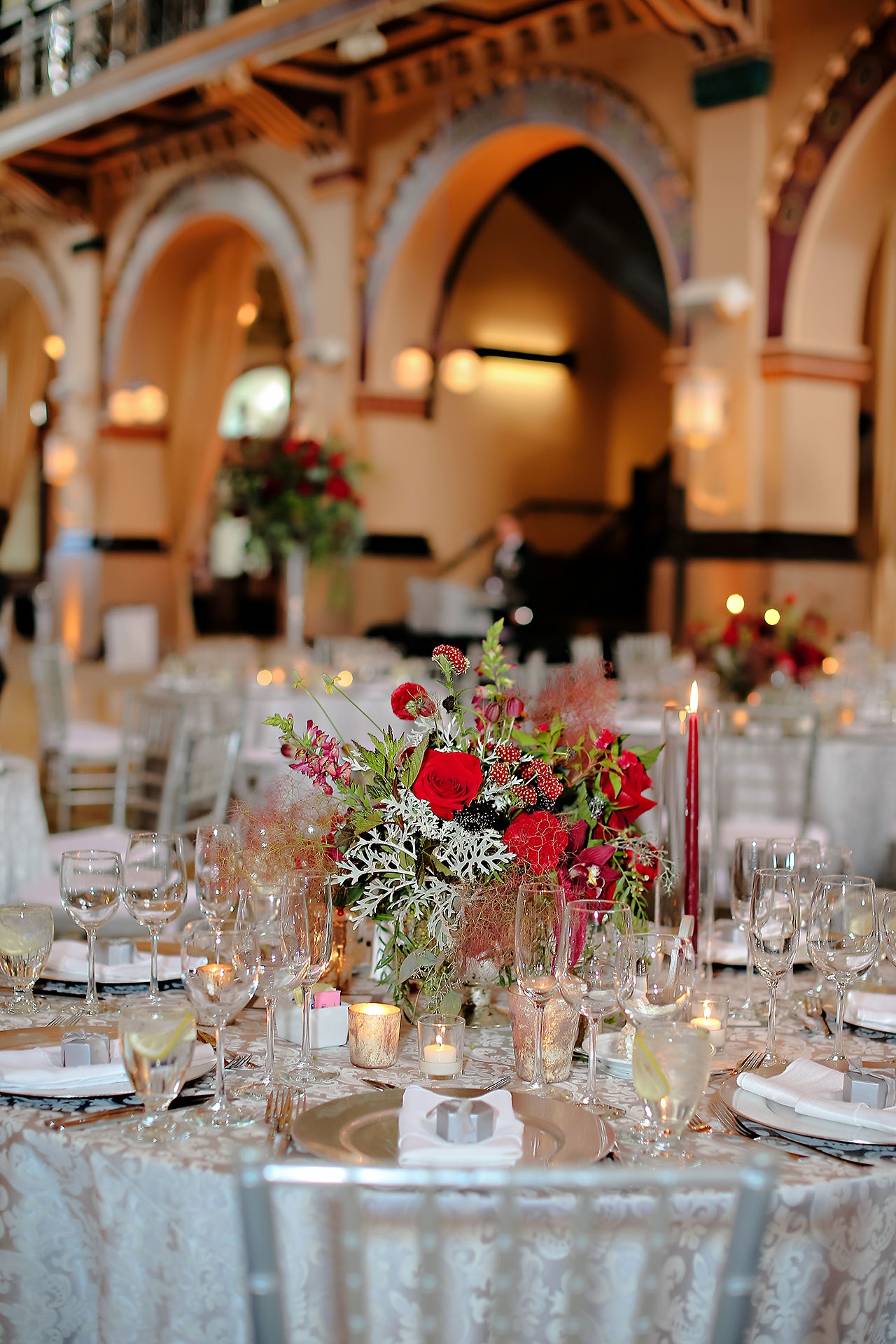 Diana Nick Crowne Plaza Indianapolis Wedding 243