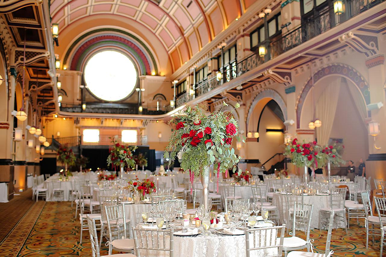 Diana Nick Crowne Plaza Indianapolis Wedding 238