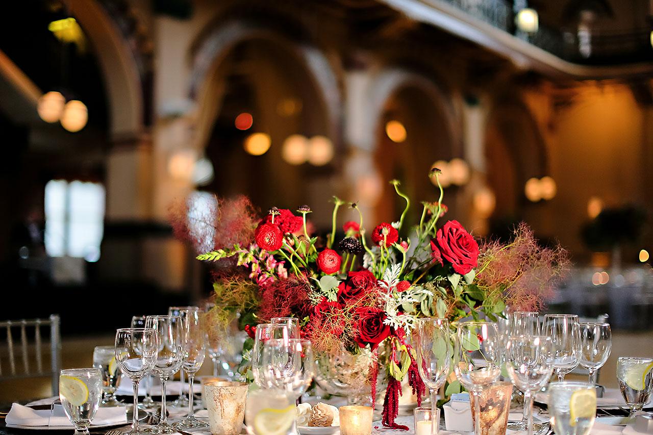 Diana Nick Crowne Plaza Indianapolis Wedding 239