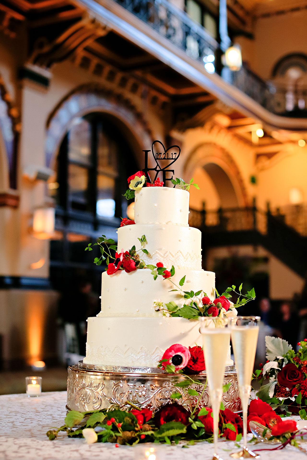 Diana Nick Crowne Plaza Indianapolis Wedding 233