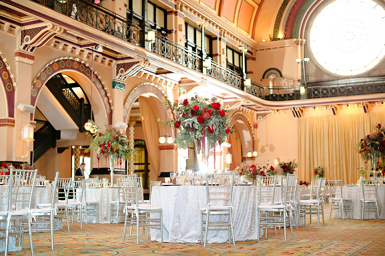 Diana Nick Crowne Plaza Indianapolis Wedding 228