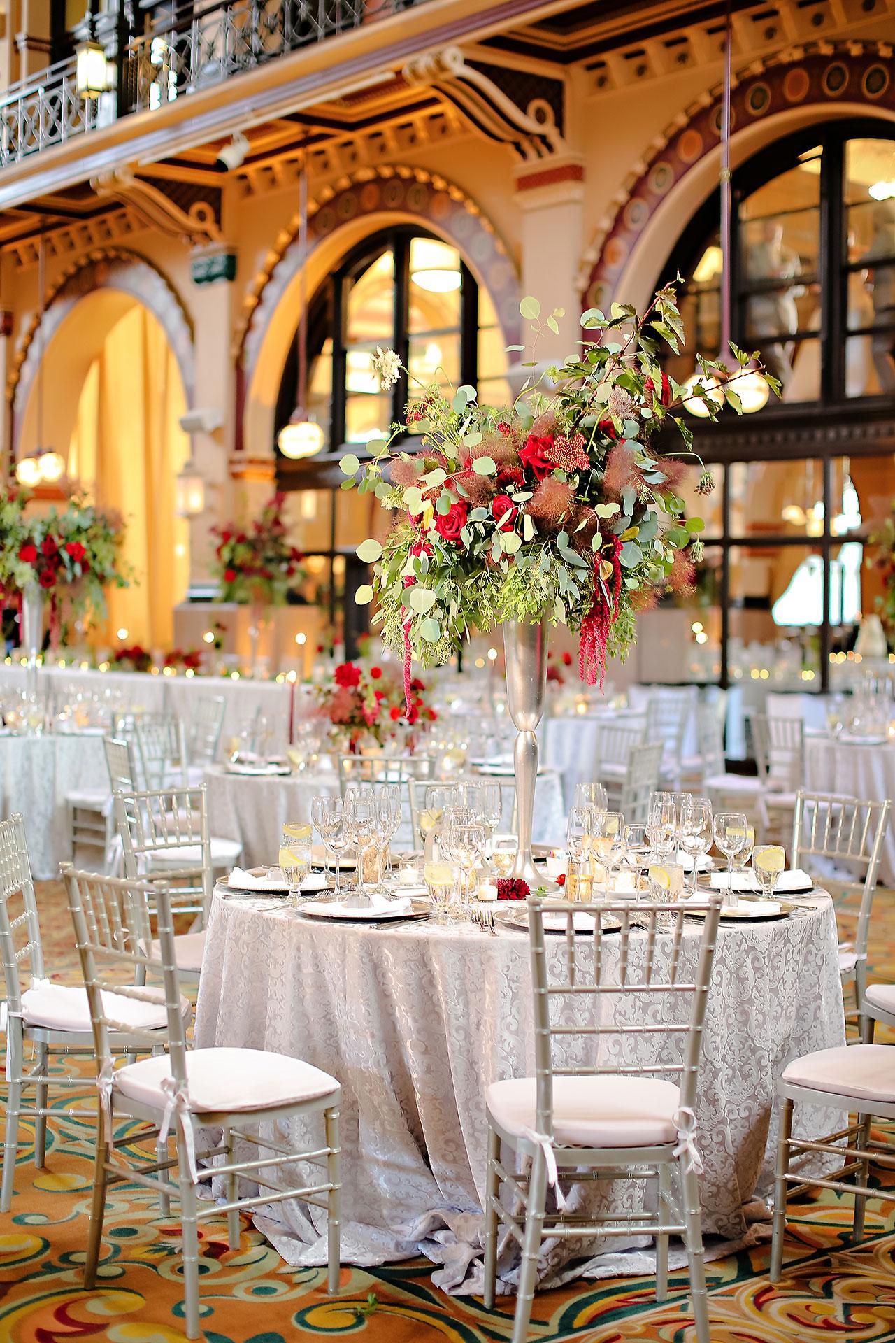 Diana Nick Crowne Plaza Indianapolis Wedding 224