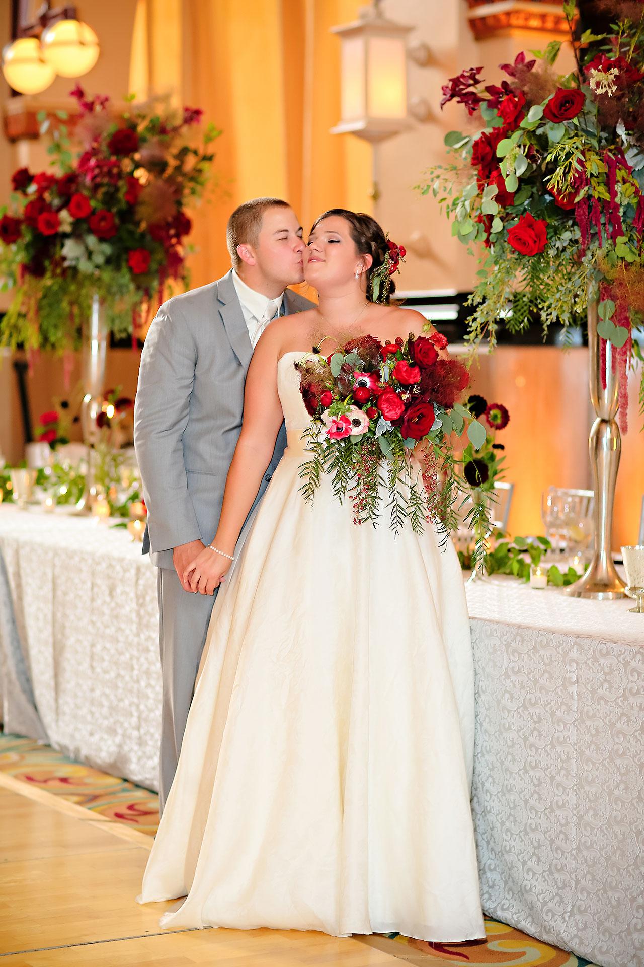 Diana Nick Crowne Plaza Indianapolis Wedding 221