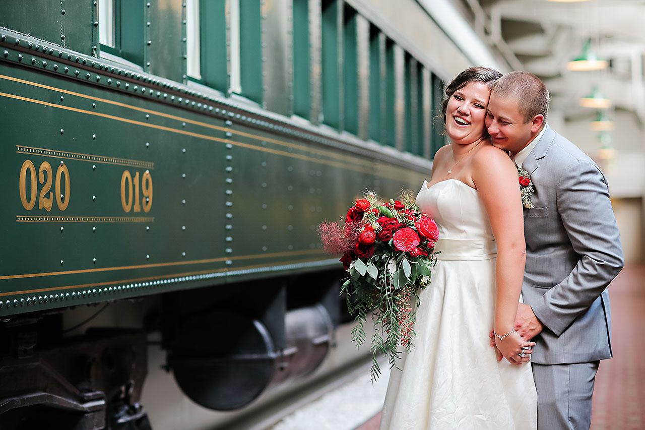 Diana Nick Crowne Plaza Indianapolis Wedding 219