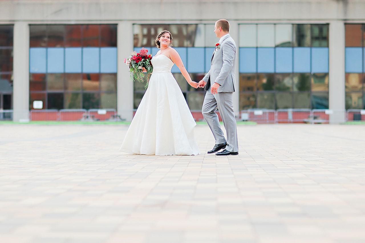 Diana Nick Crowne Plaza Indianapolis Wedding 220