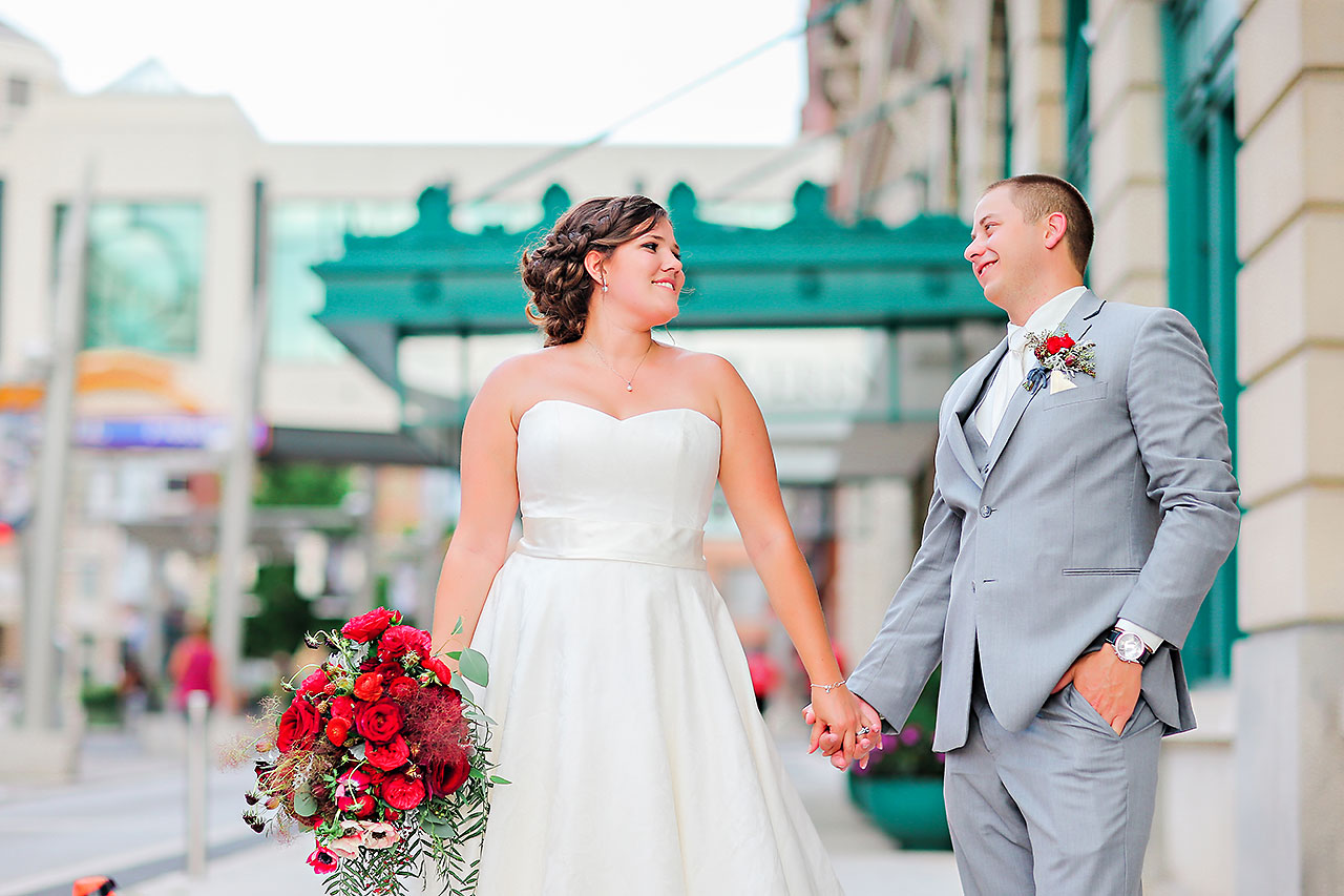 Diana Nick Crowne Plaza Indianapolis Wedding 218