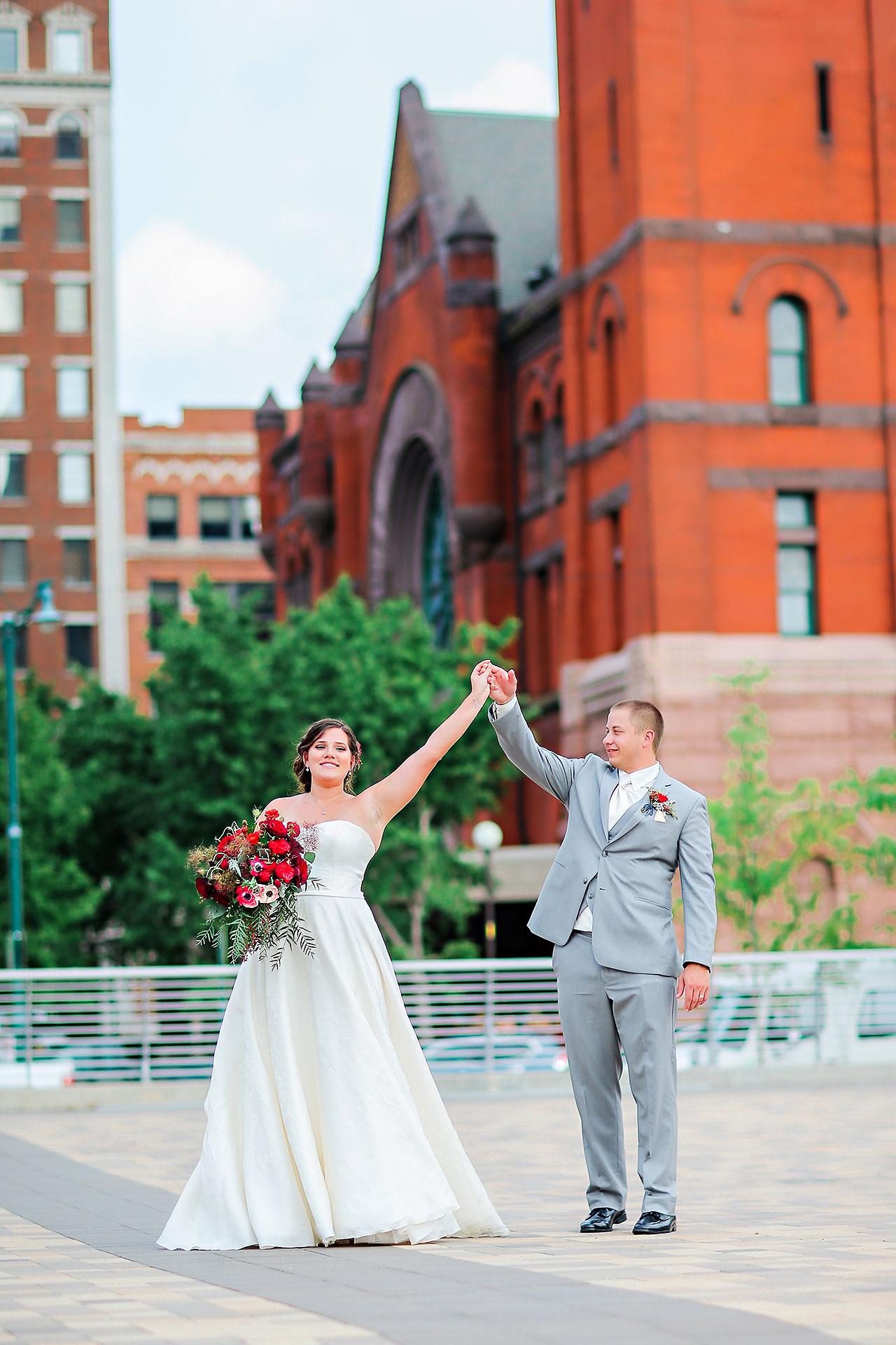 Diana Nick Crowne Plaza Indianapolis Wedding 214