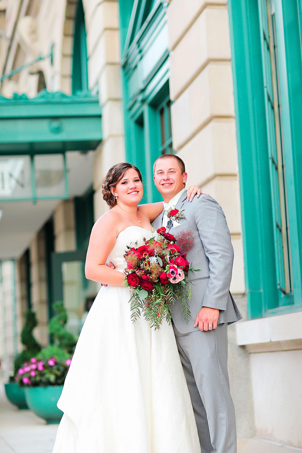 Diana Nick Crowne Plaza Indianapolis Wedding 215