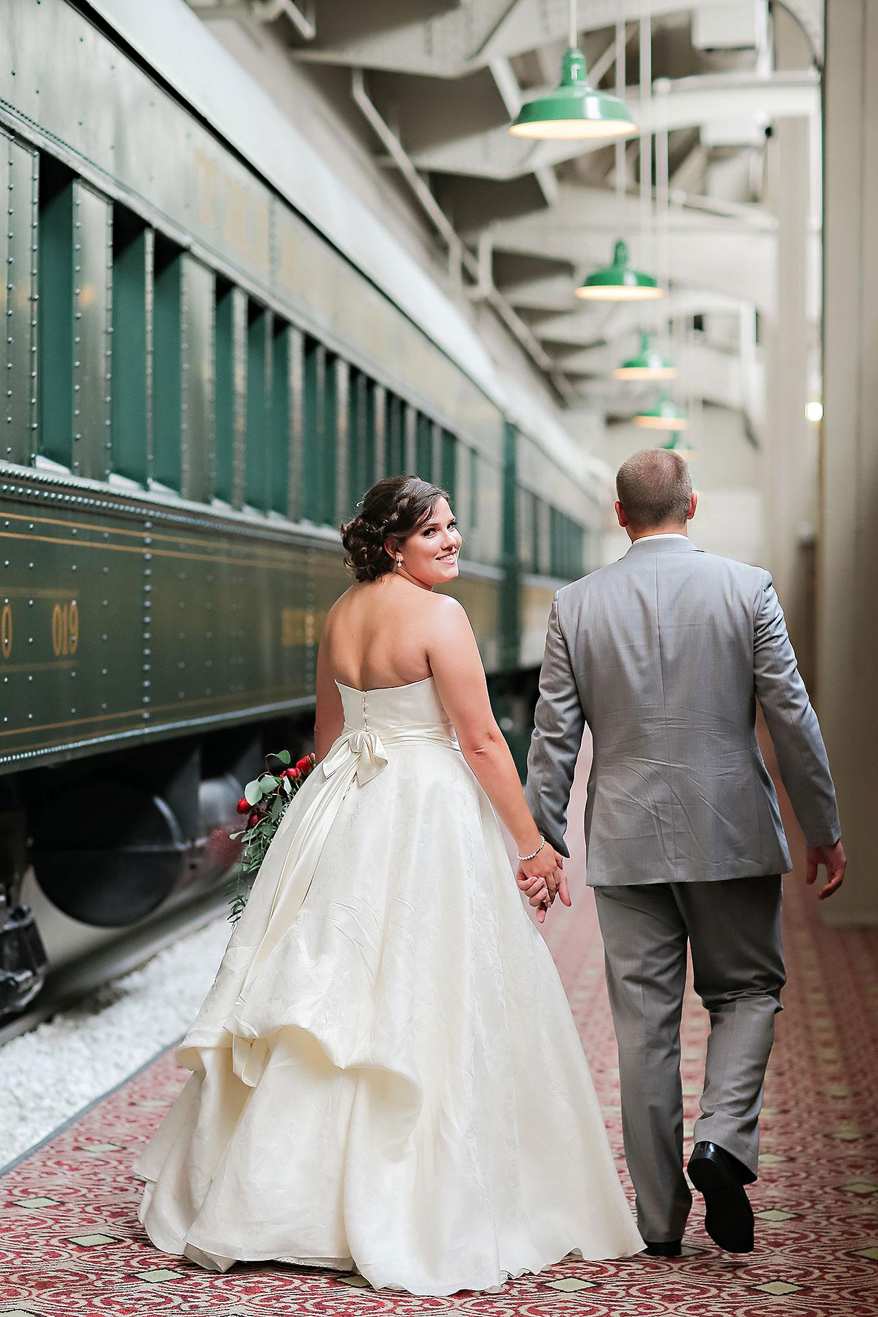 Diana Nick Crowne Plaza Indianapolis Wedding 216