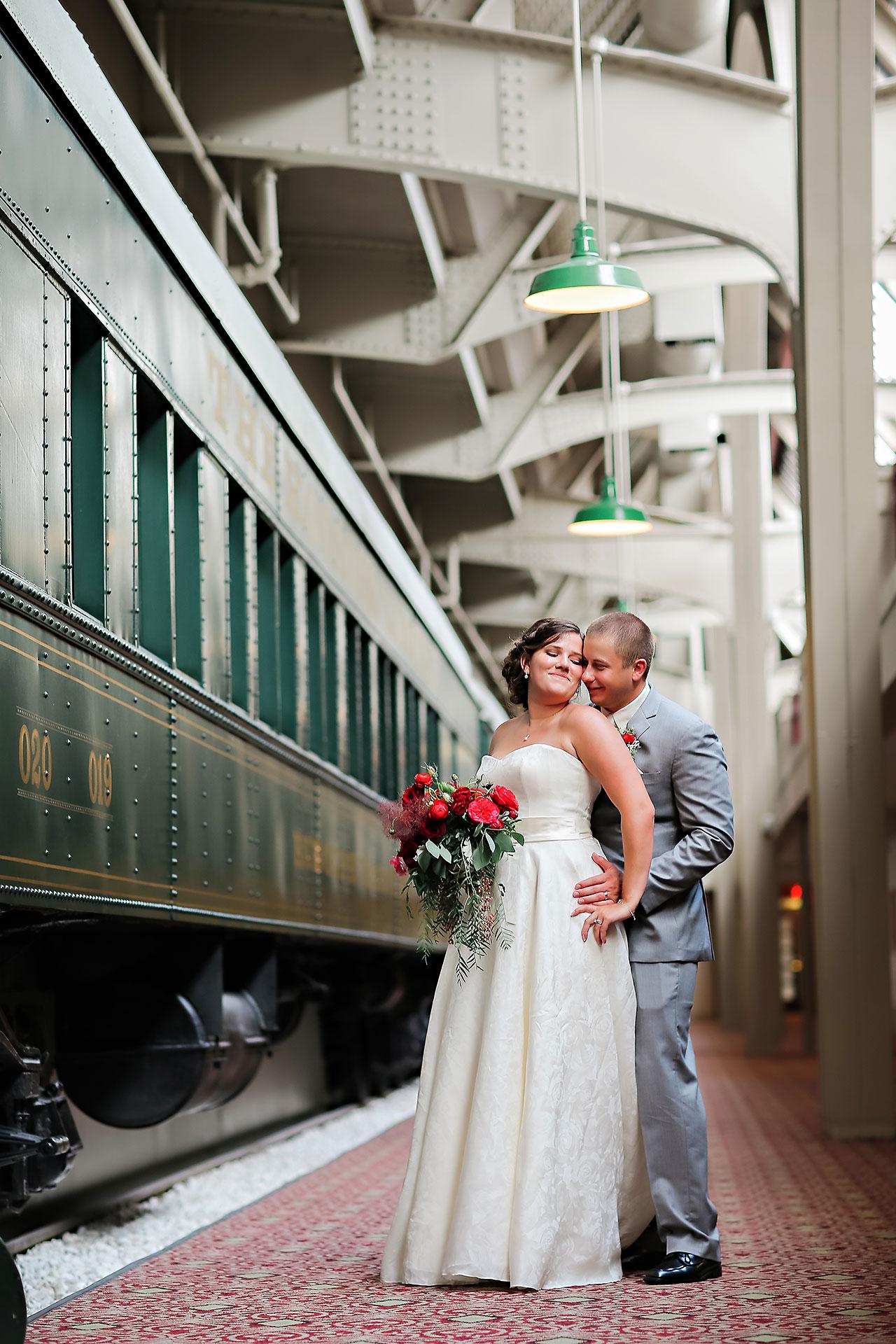 Diana Nick Crowne Plaza Indianapolis Wedding 212