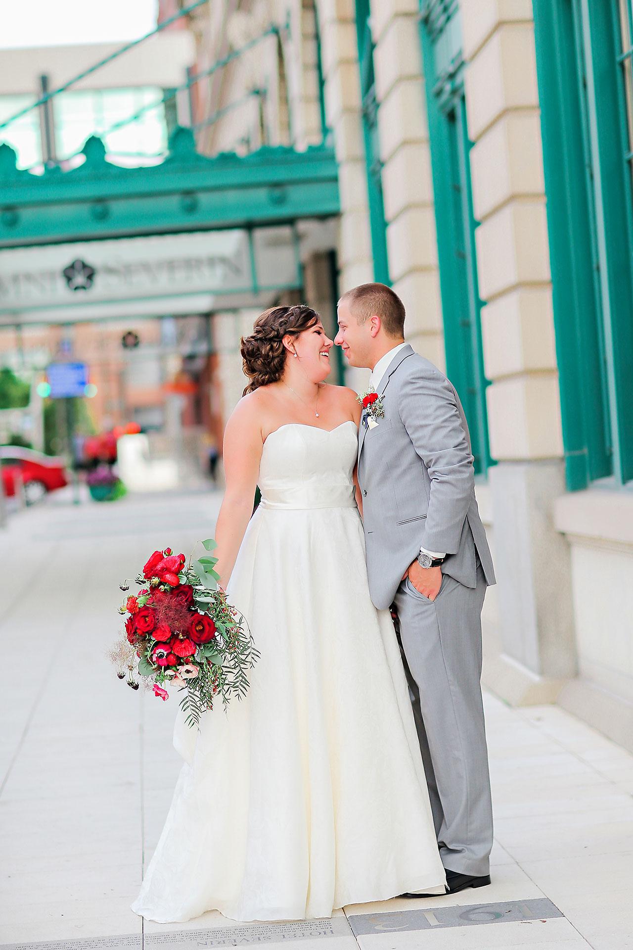Diana Nick Crowne Plaza Indianapolis Wedding 213