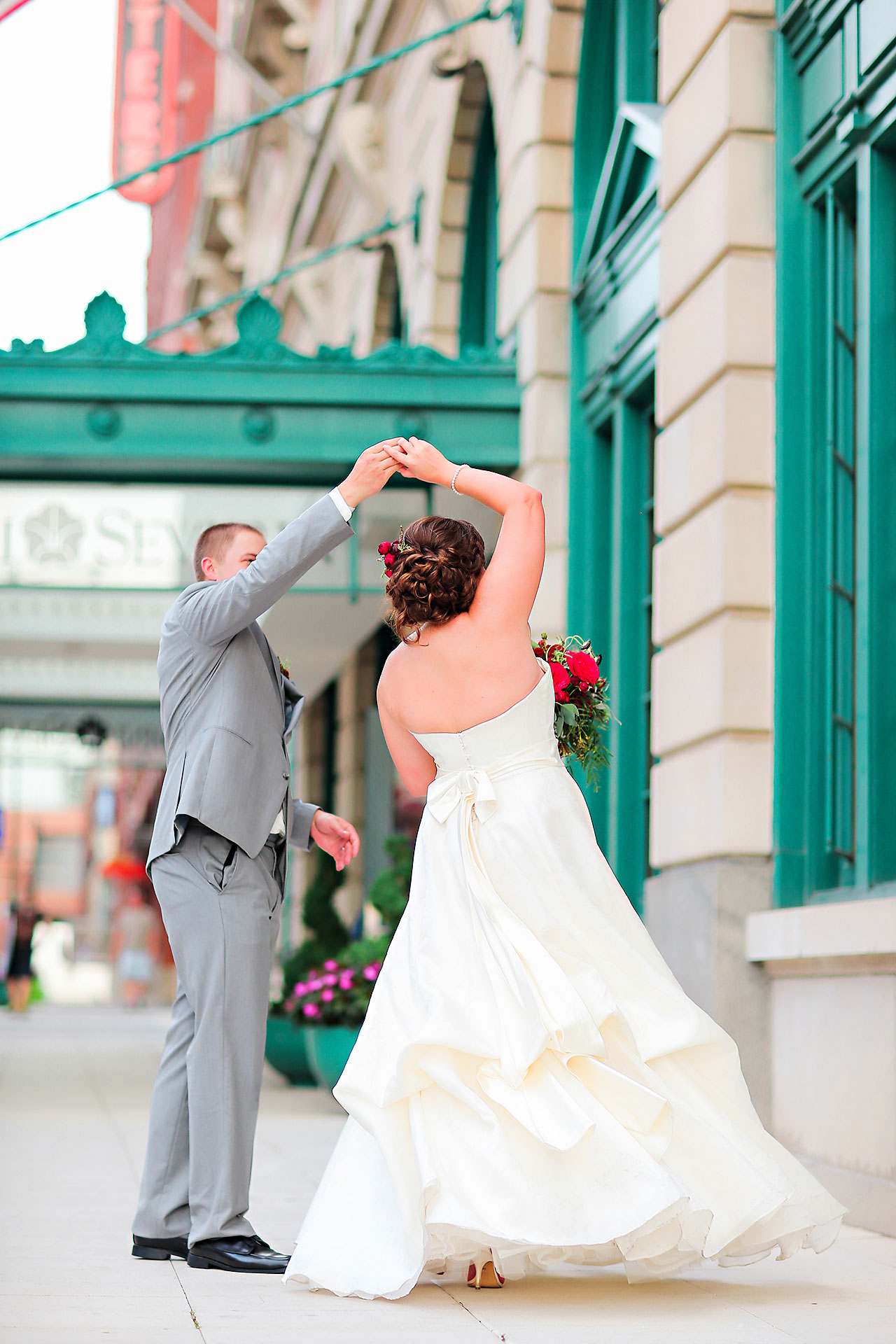 Diana Nick Crowne Plaza Indianapolis Wedding 210