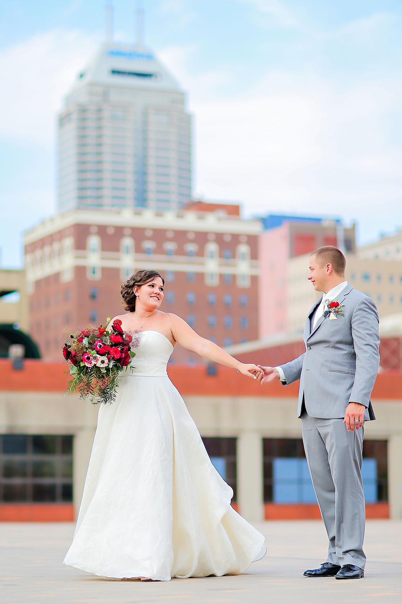 Diana Nick Crowne Plaza Indianapolis Wedding 211