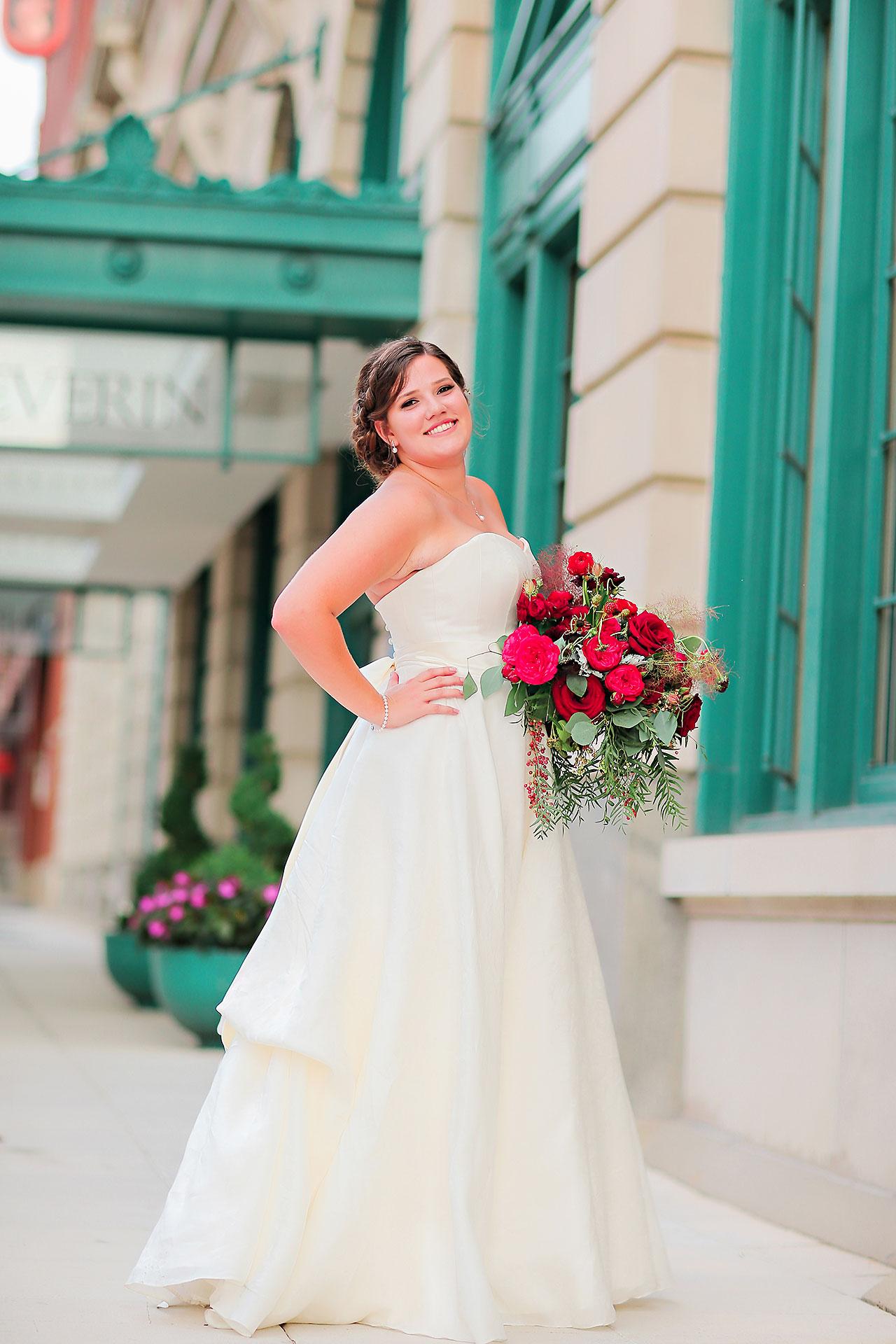 Diana Nick Crowne Plaza Indianapolis Wedding 207