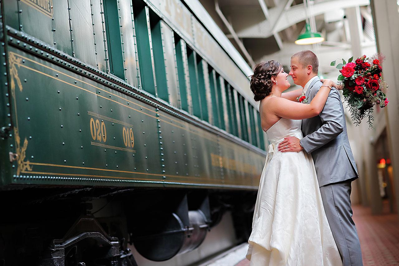 Diana Nick Crowne Plaza Indianapolis Wedding 204
