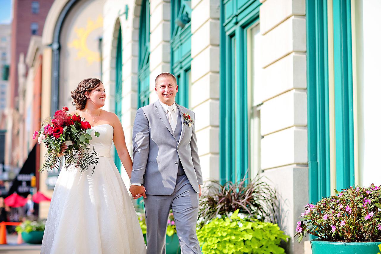 Diana Nick Crowne Plaza Indianapolis Wedding 205