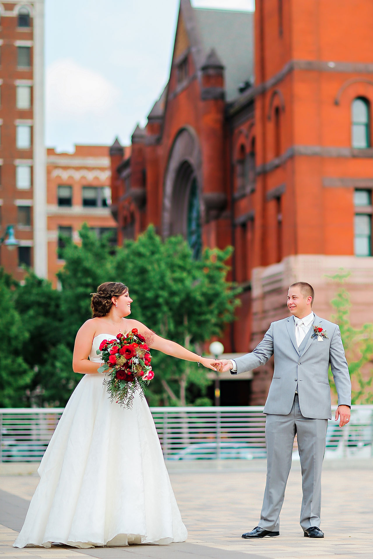 Diana Nick Crowne Plaza Indianapolis Wedding 206