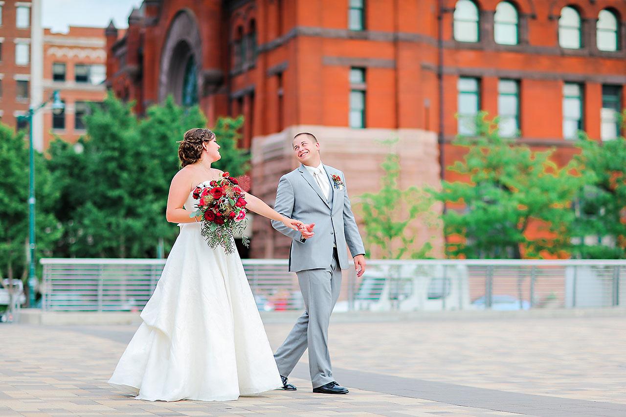 Diana Nick Crowne Plaza Indianapolis Wedding 202