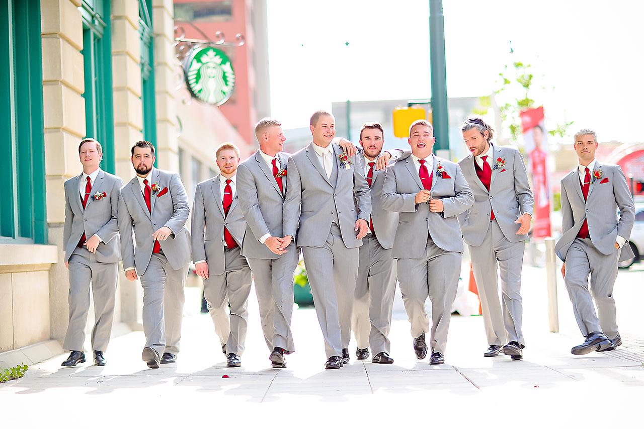 Diana Nick Crowne Plaza Indianapolis Wedding 203