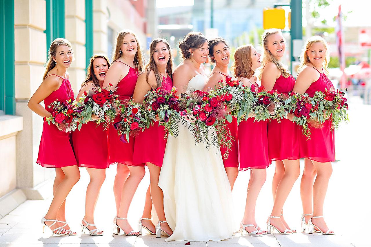 Diana Nick Crowne Plaza Indianapolis Wedding 201