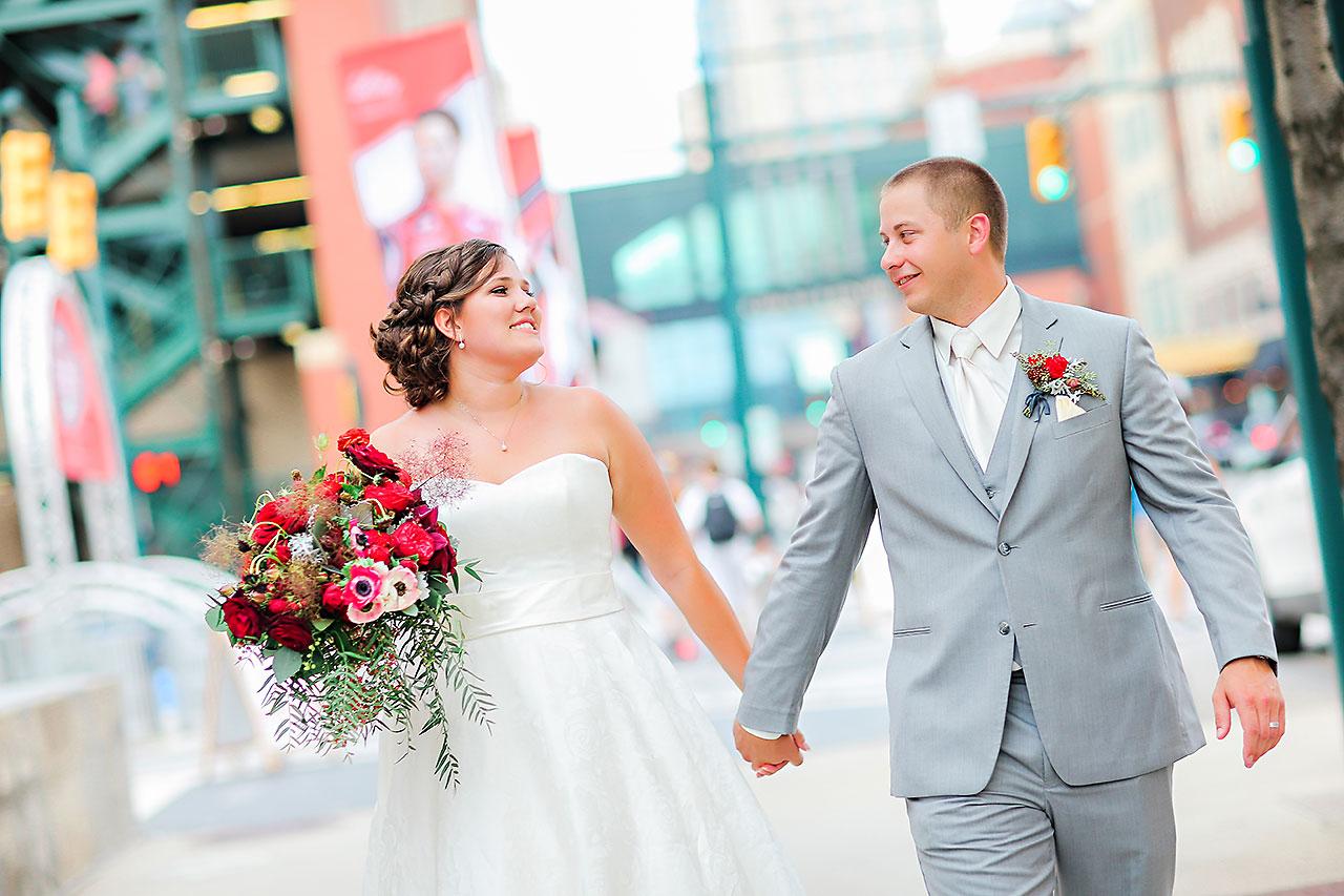 Diana Nick Crowne Plaza Indianapolis Wedding 199