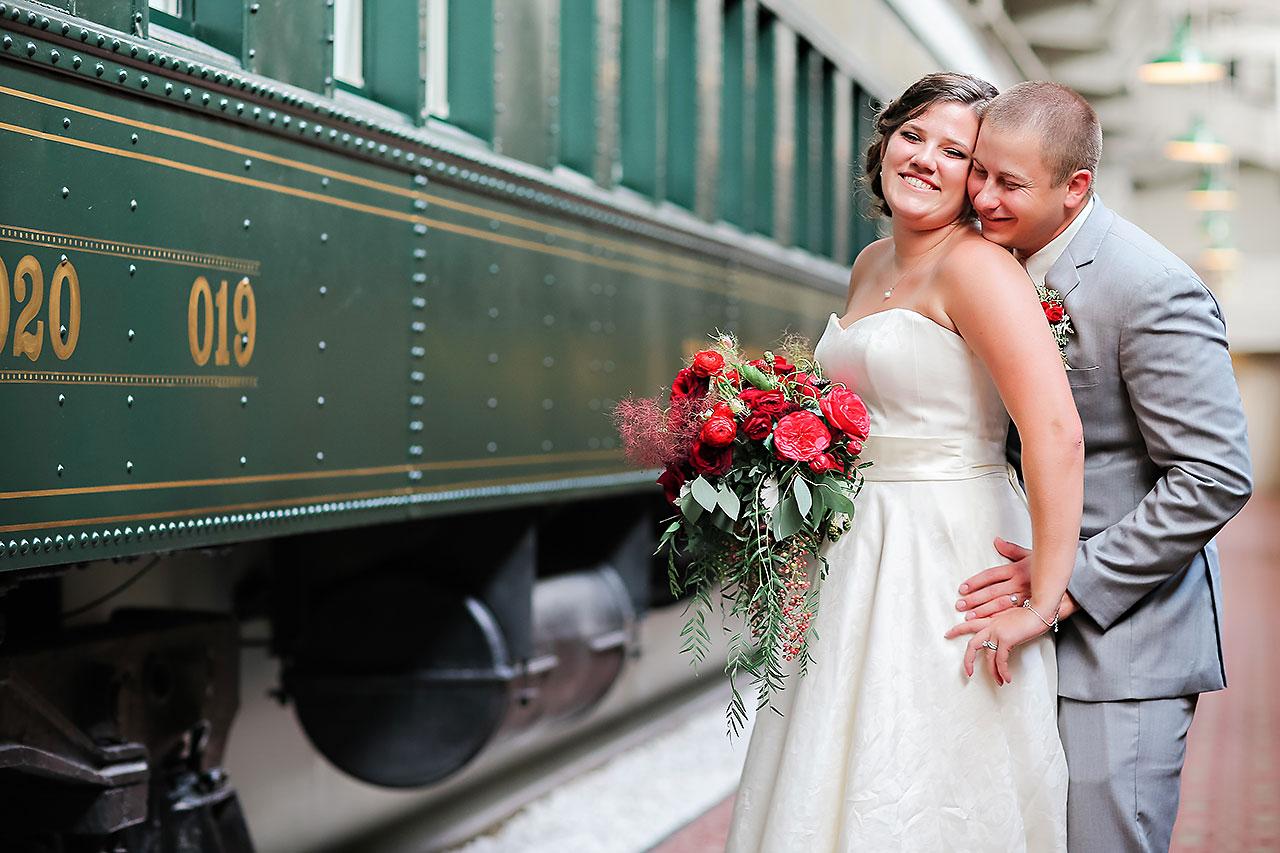 Diana Nick Crowne Plaza Indianapolis Wedding 197
