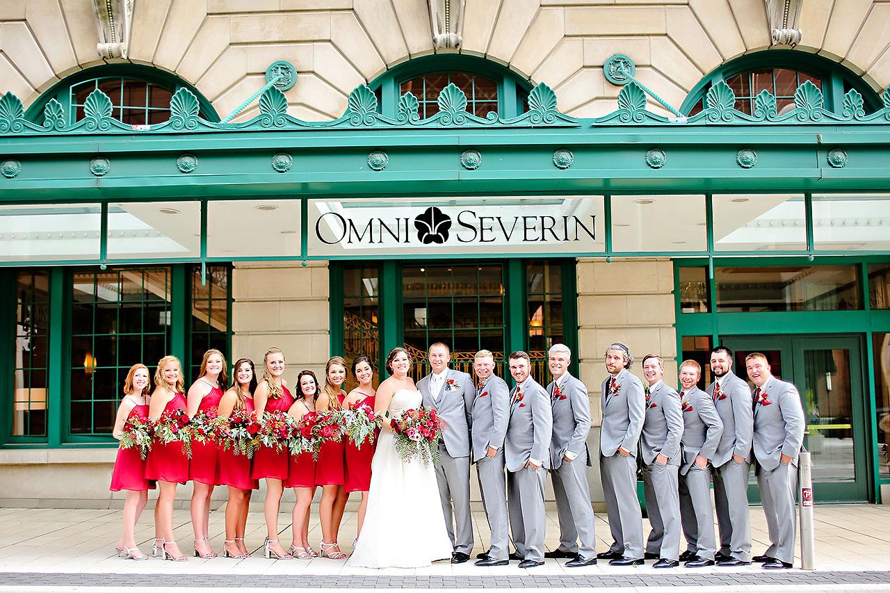 Diana Nick Crowne Plaza Indianapolis Wedding 198