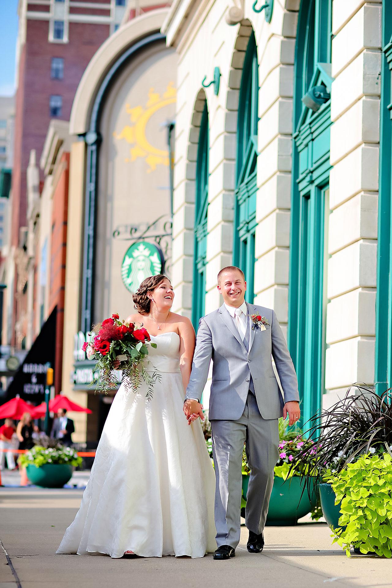 Diana Nick Crowne Plaza Indianapolis Wedding 193