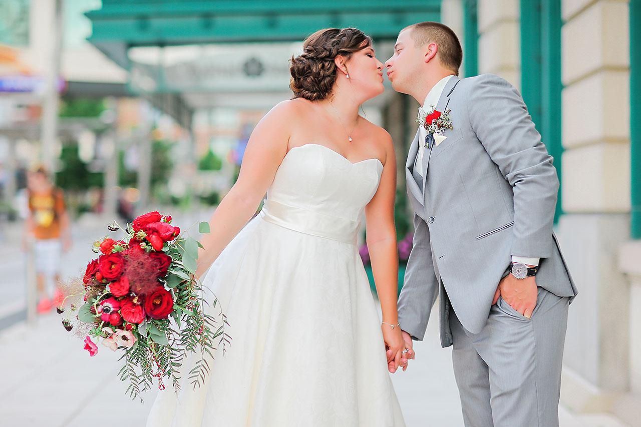 Diana Nick Crowne Plaza Indianapolis Wedding 195