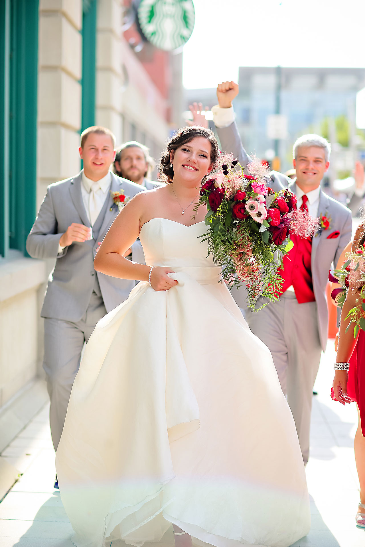 Diana Nick Crowne Plaza Indianapolis Wedding 192