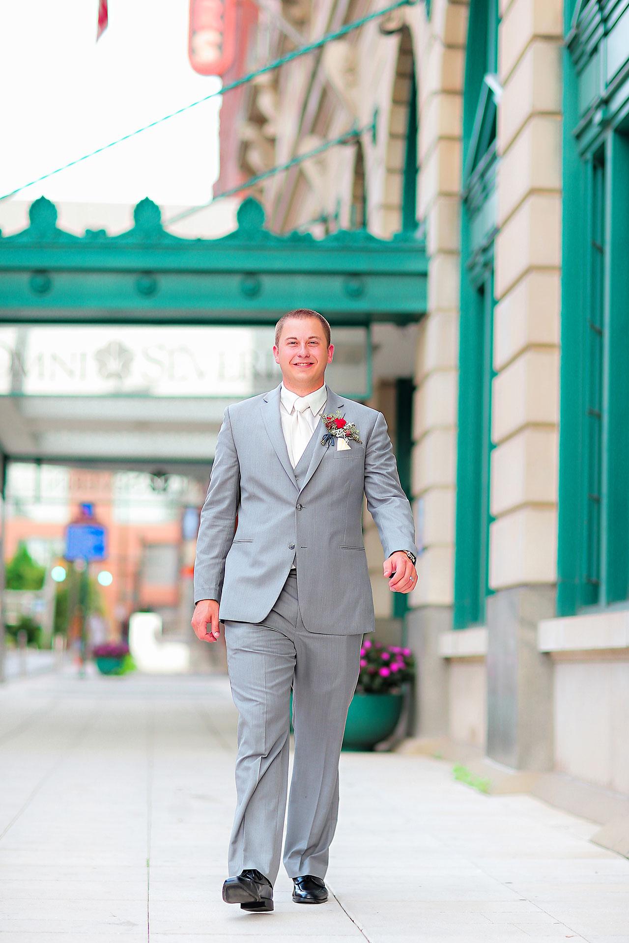Diana Nick Crowne Plaza Indianapolis Wedding 188