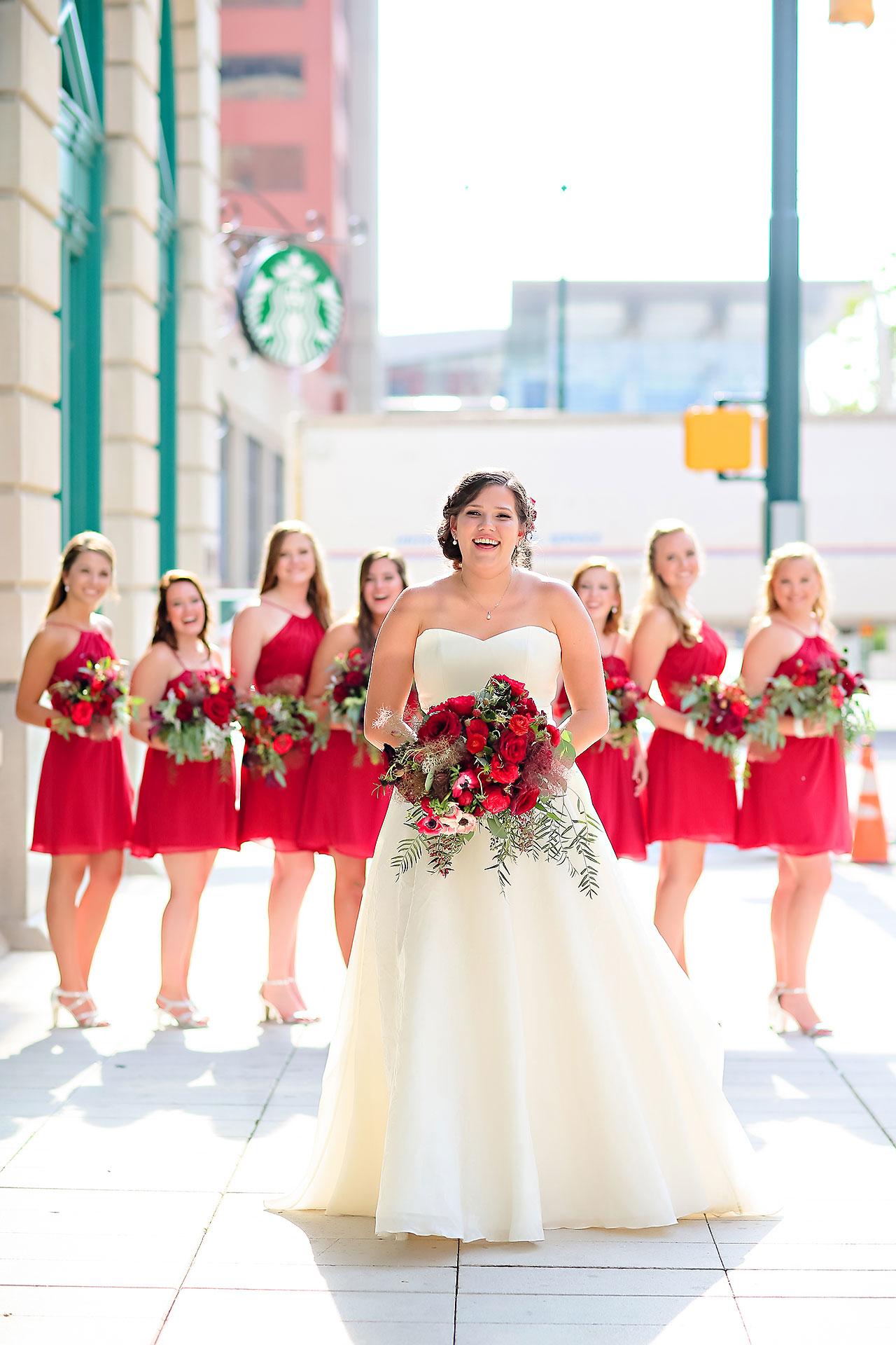 Diana Nick Crowne Plaza Indianapolis Wedding 189