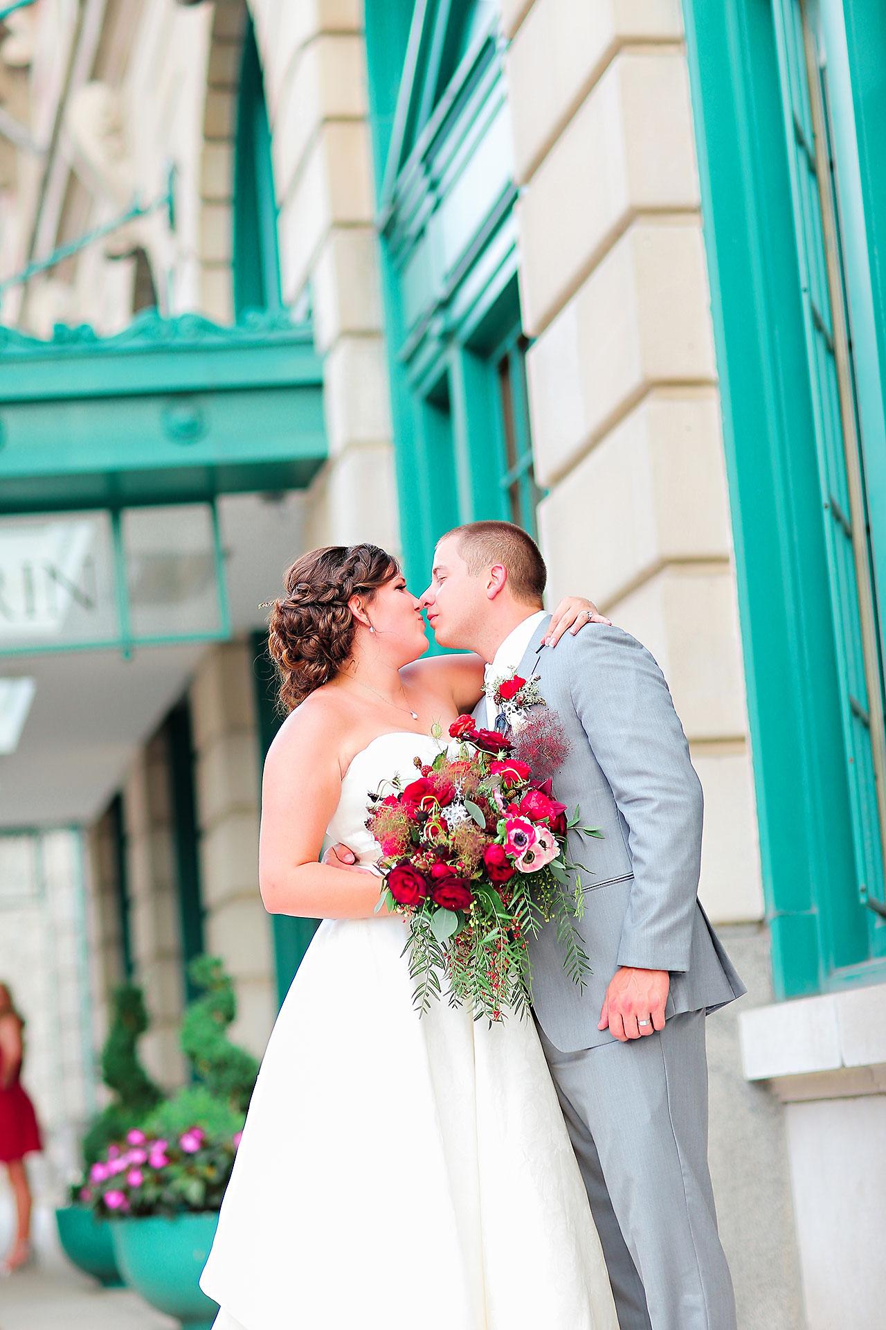 Diana Nick Crowne Plaza Indianapolis Wedding 190
