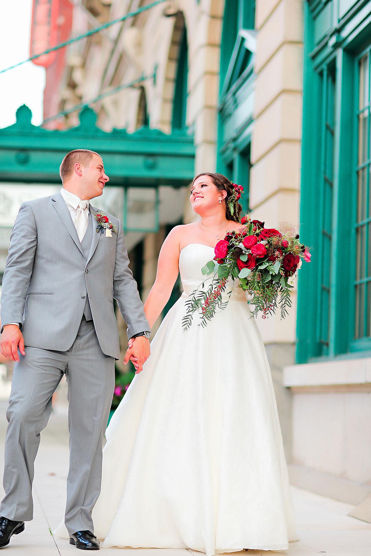 Diana Nick Crowne Plaza Indianapolis Wedding 186