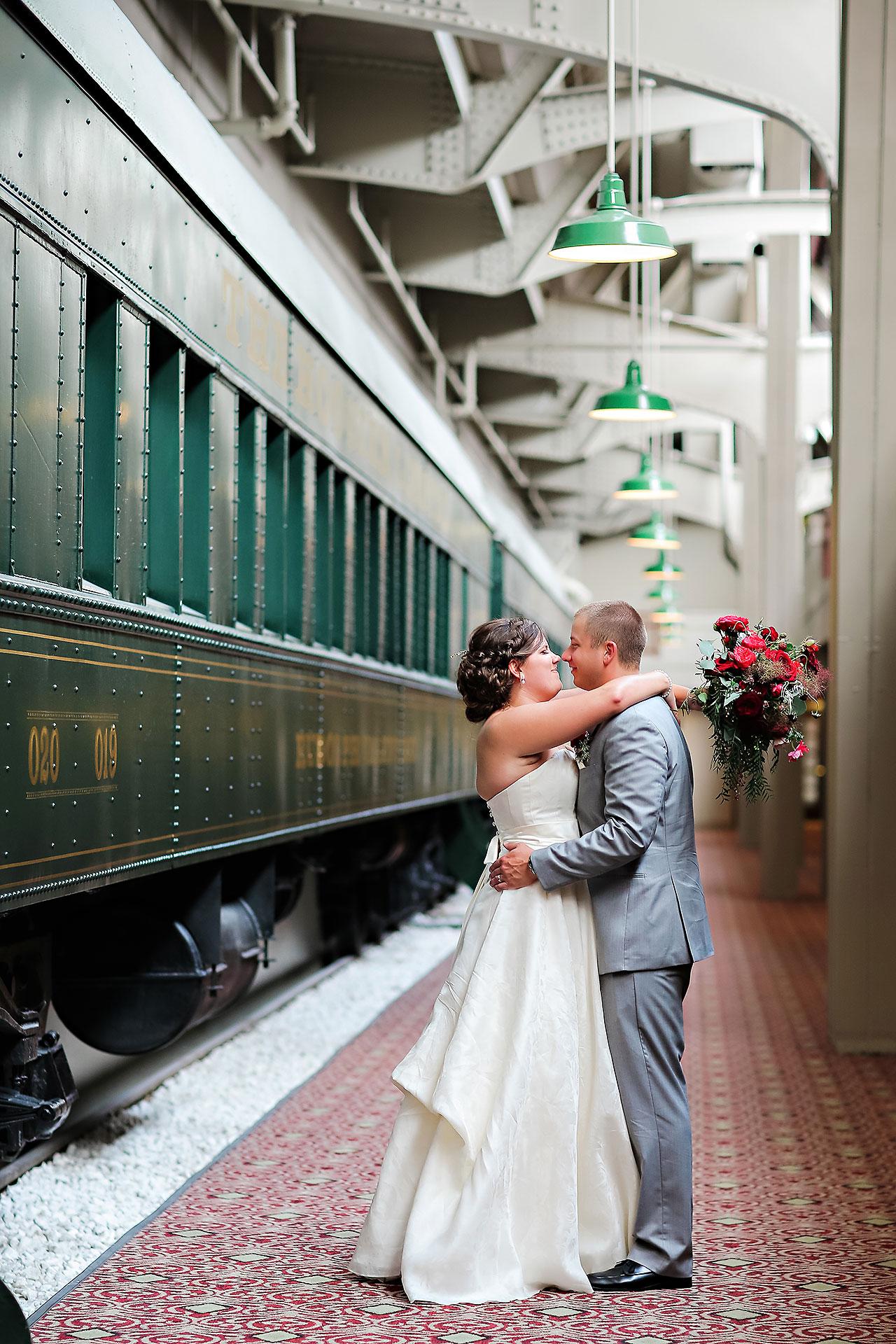 Diana Nick Crowne Plaza Indianapolis Wedding 187