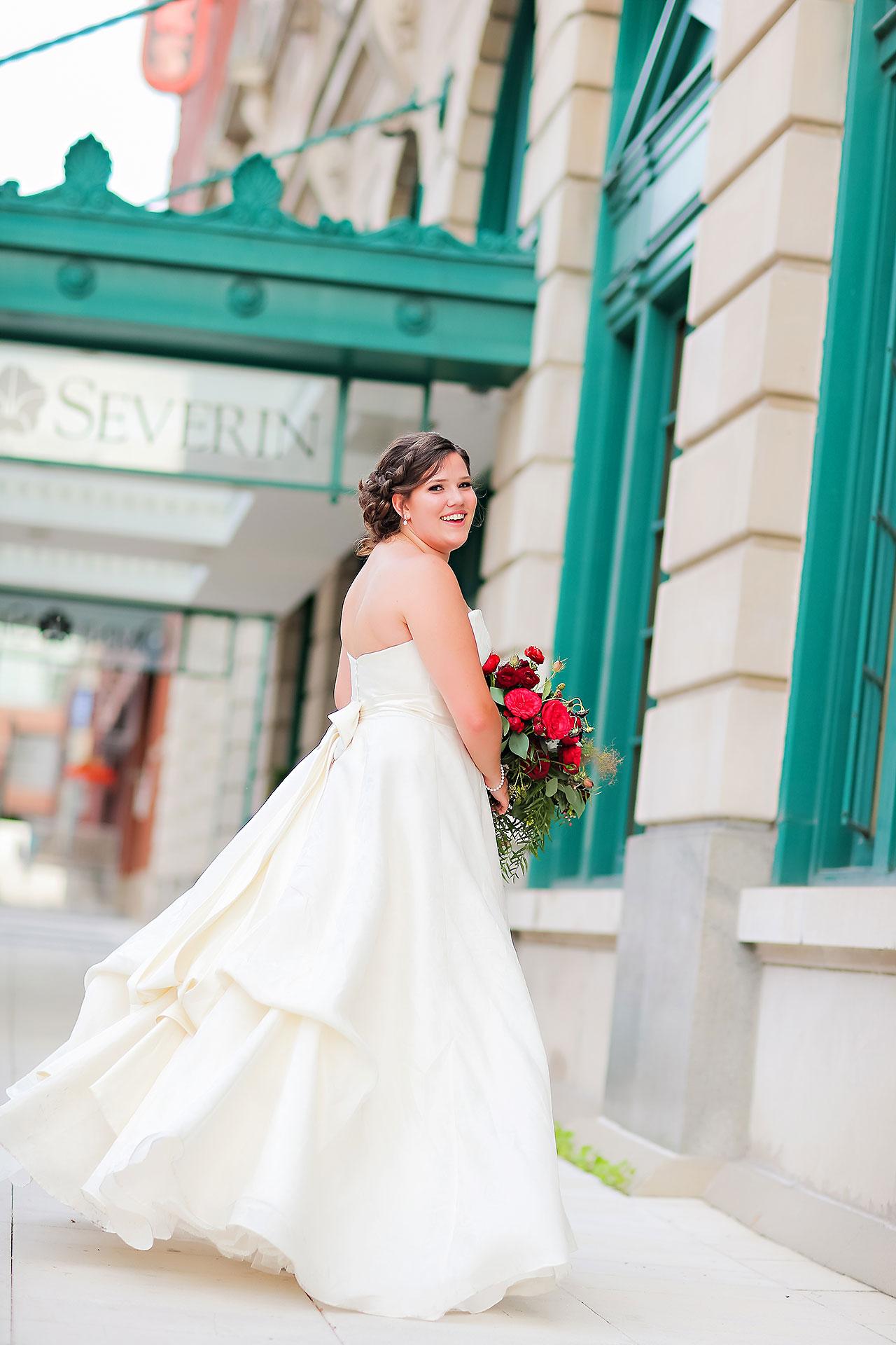 Diana Nick Crowne Plaza Indianapolis Wedding 184