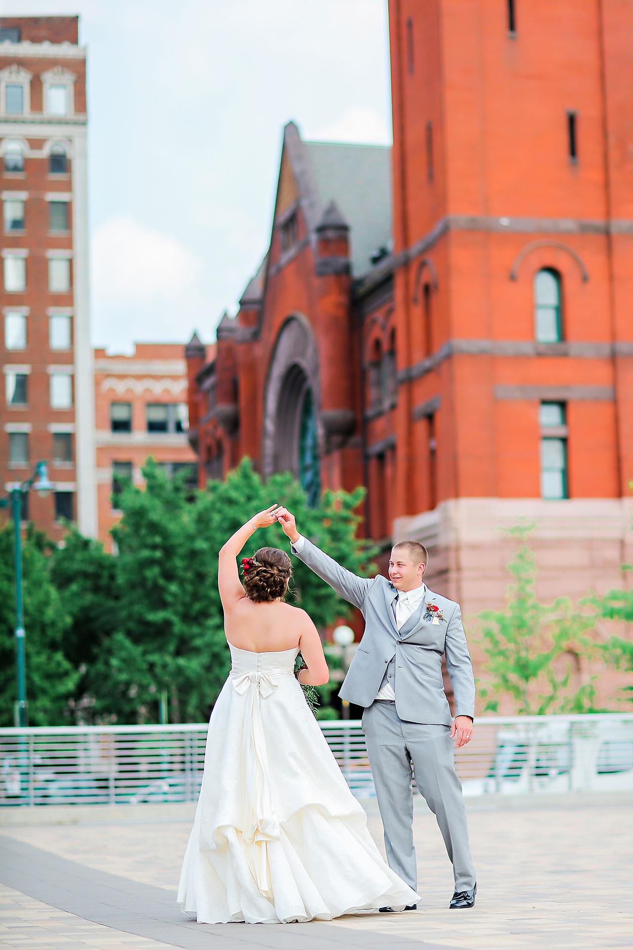 Diana Nick Crowne Plaza Indianapolis Wedding 185
