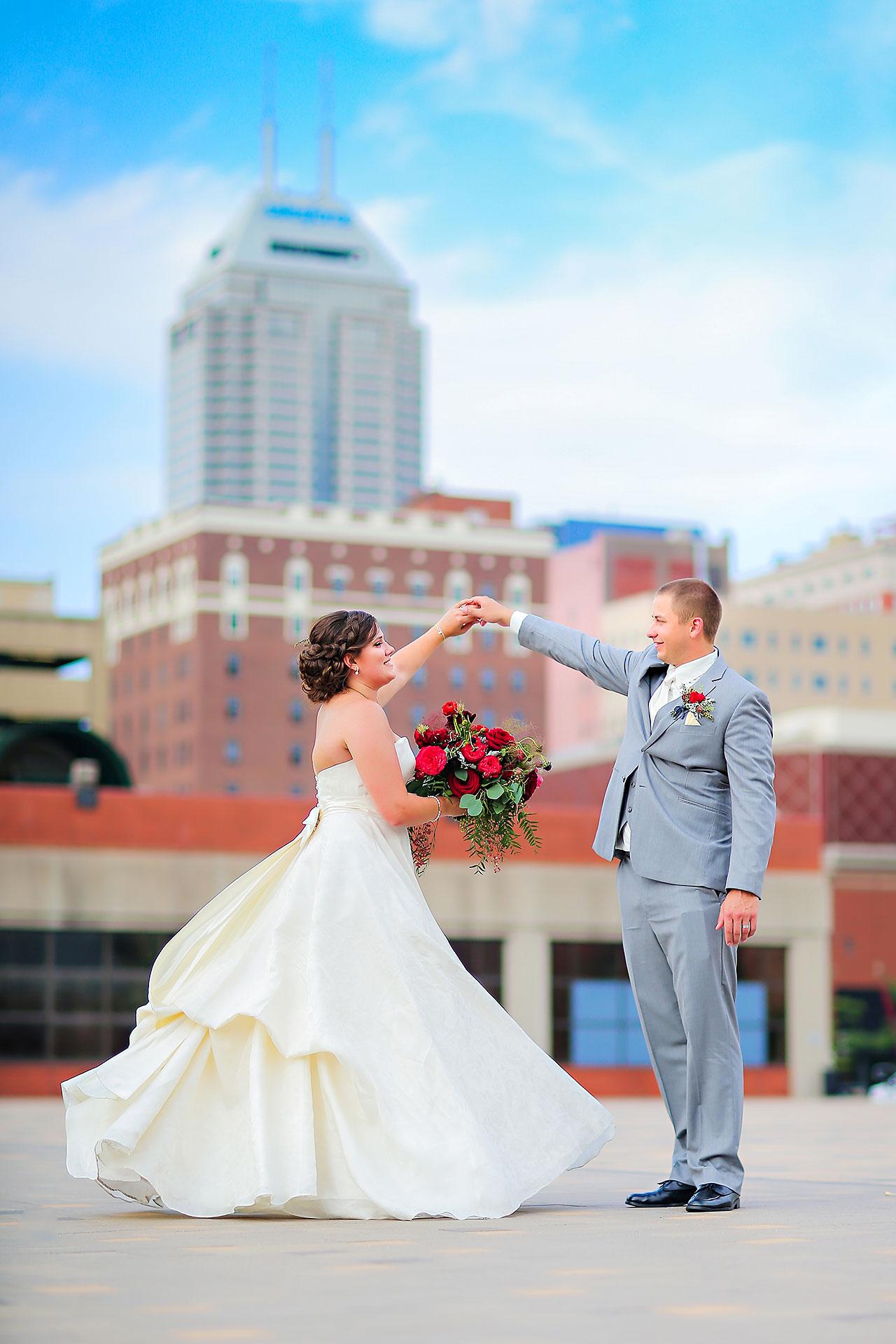 Diana Nick Crowne Plaza Indianapolis Wedding 183