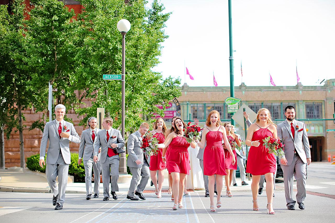 Diana Nick Crowne Plaza Indianapolis Wedding 179