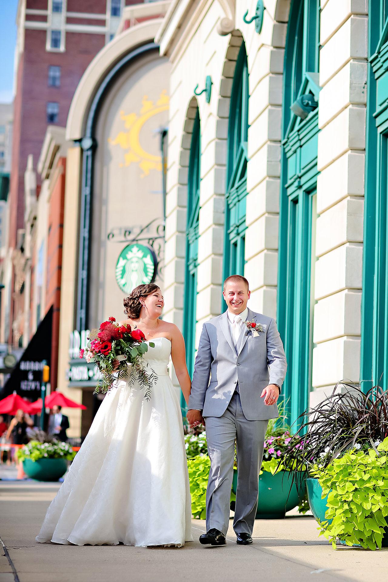 Diana Nick Crowne Plaza Indianapolis Wedding 180