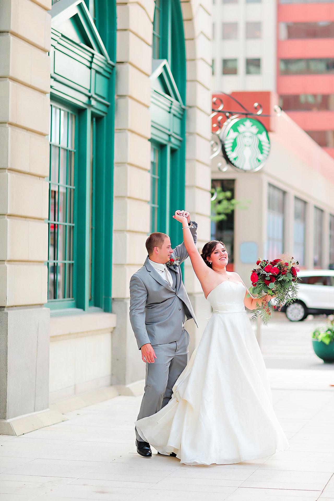 Diana Nick Crowne Plaza Indianapolis Wedding 181