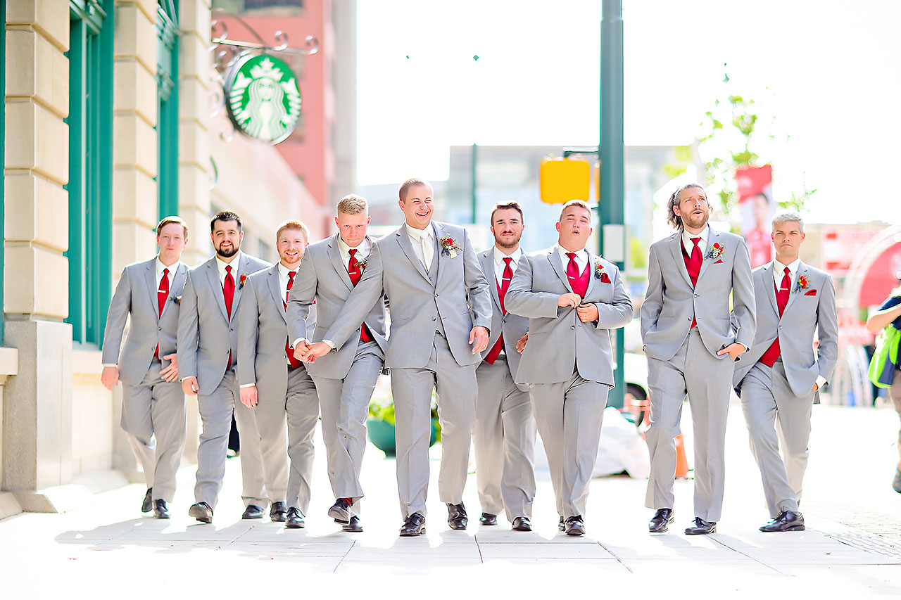 Diana Nick Crowne Plaza Indianapolis Wedding 177
