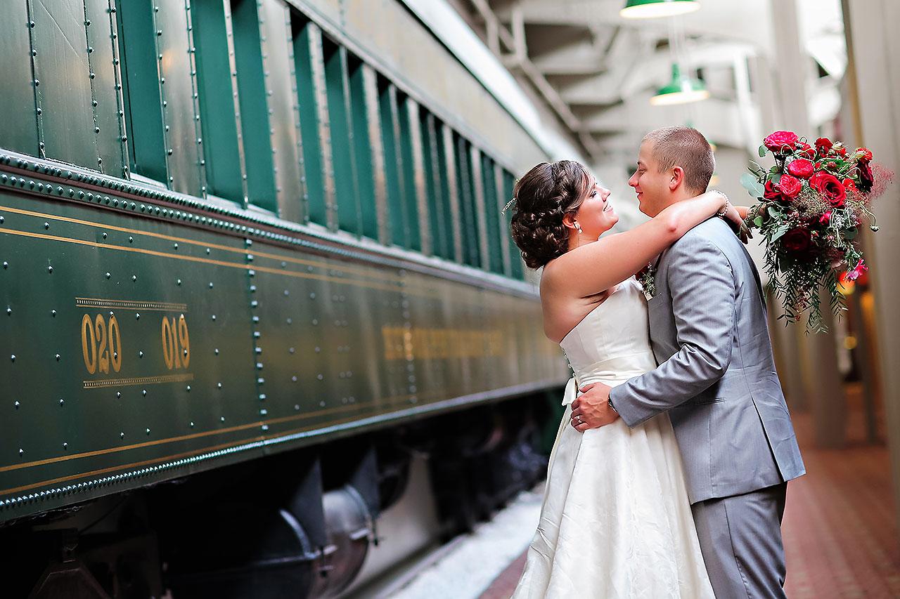Diana Nick Crowne Plaza Indianapolis Wedding 178