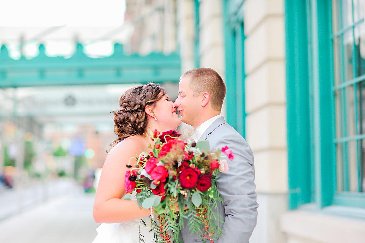 Diana Nick Crowne Plaza Indianapolis Wedding 176