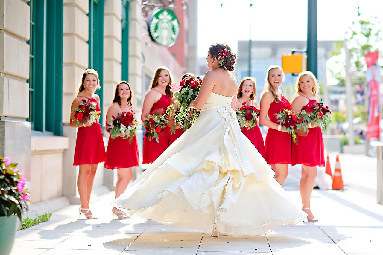 Diana Nick Crowne Plaza Indianapolis Wedding 174