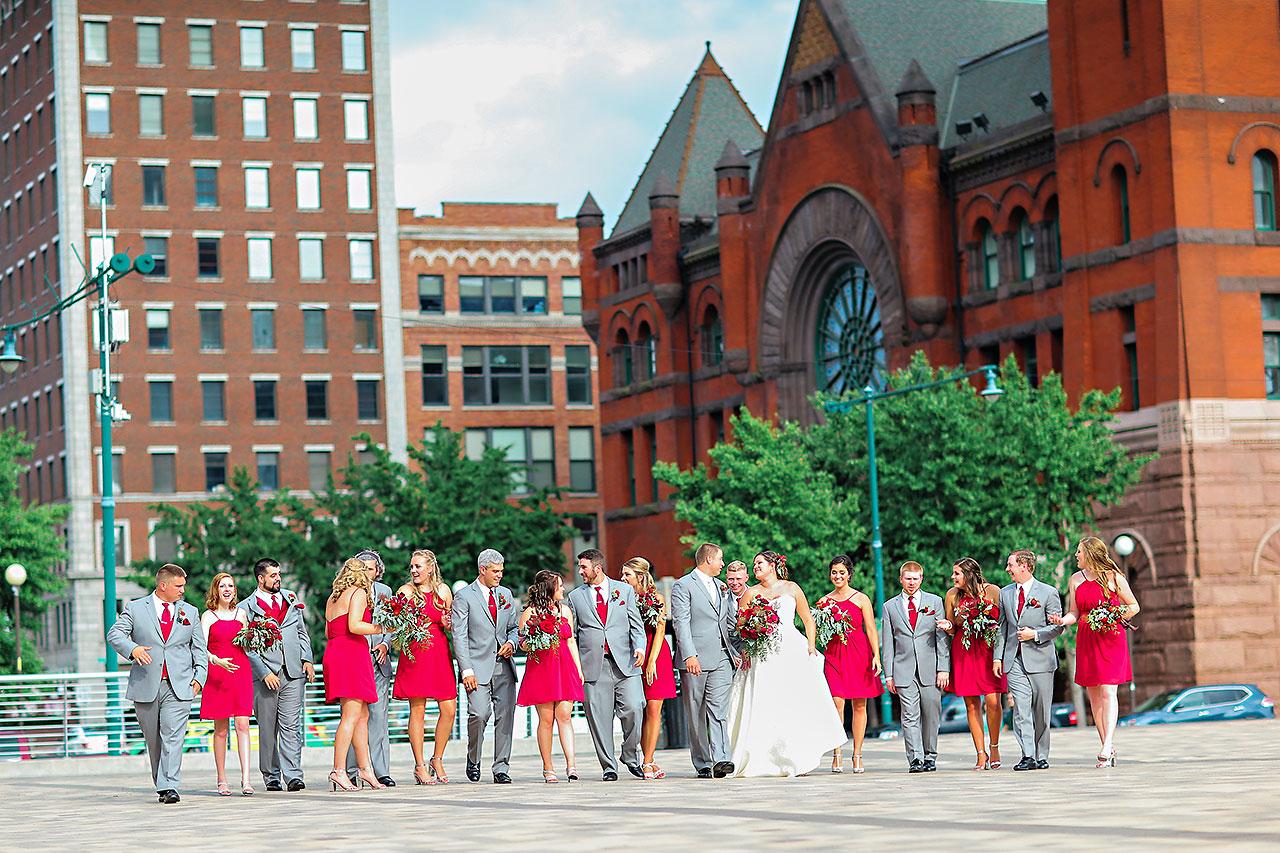 Diana Nick Crowne Plaza Indianapolis Wedding 175